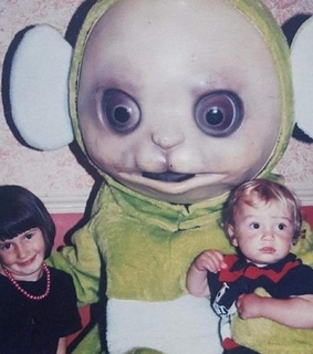 cursed images, teletubbies and shitpost