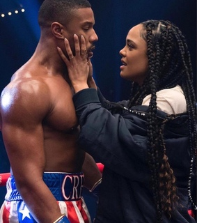 braids, boxe and adonis johnson