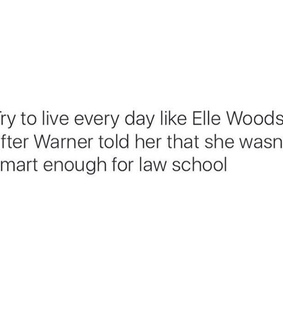 elle woods and legally blonde