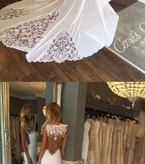 wedding dress backless, wedding dress mermaid and wedding dress white