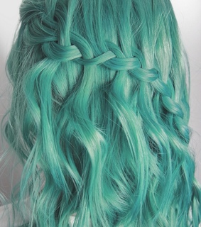 beauty, turquoise and curls
