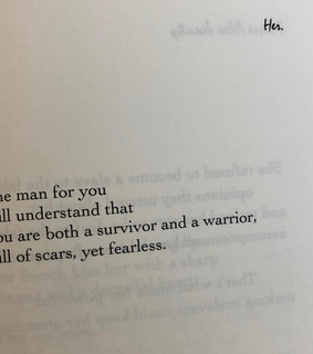 warrior, love and scars