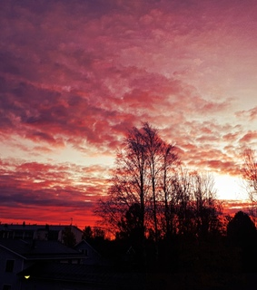 sky, colors and sunrise