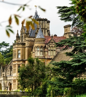 gothic architecture, somerset and english country house