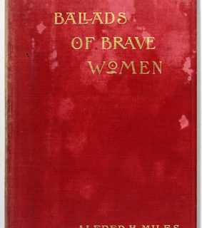 red, books and brave women