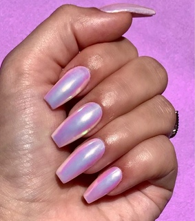 inspiration, pink and nails