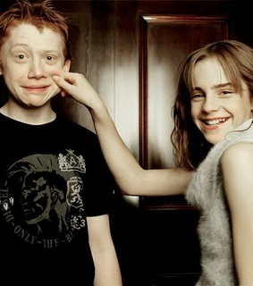 romione, harry potter and hermione granger