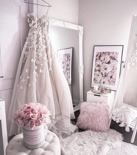dress, details and gown
