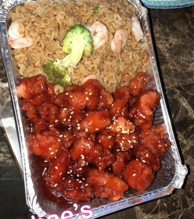 chinese food, rice and fried rice