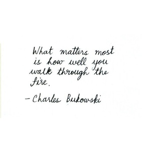 inspiration, poems and charles bukowski