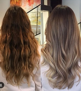 perfect, brunette and balyage