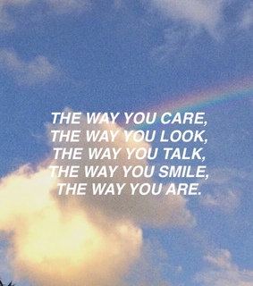 quotes, boy and light blue