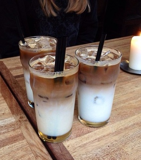 coffee time, ice coffee yummy and coffee lover