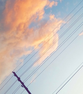 clouds, sunset and icee1o