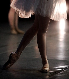 strong, ballet and dance