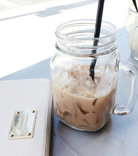iced, latte and breakfast