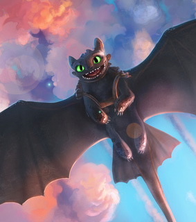 toothless, night and fury