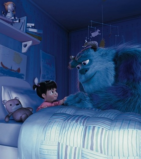 boo, pixar and sulley
