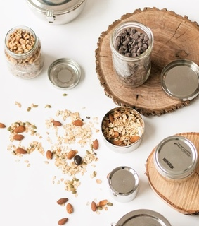 nuts, zero waste and cooking