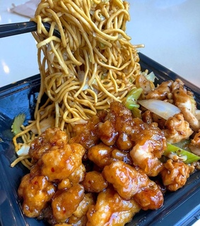 panda express, chinese food and delicious