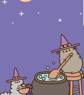 magic, cute and pusheen