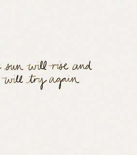 try again, sun and inspiring
