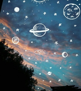 planets, orbital and pink