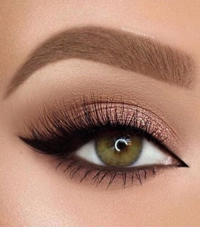 eyes, makeup and sexy look