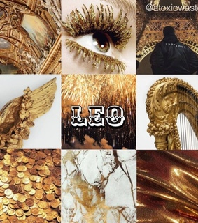 august, leo and aesthetic