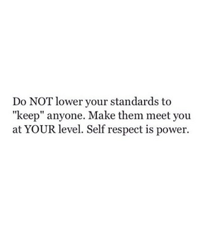 inspiring, self respect and thought