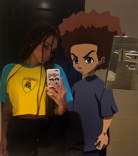 boondocks, anime and ghetto