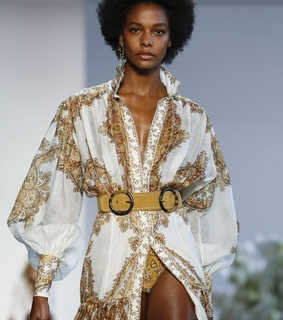 woc, runway and gold