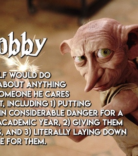 quotes, dobby and harry potter