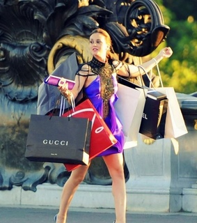 shopping, series and gucci