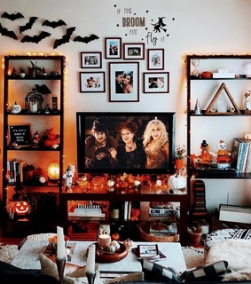 home, house and halloween