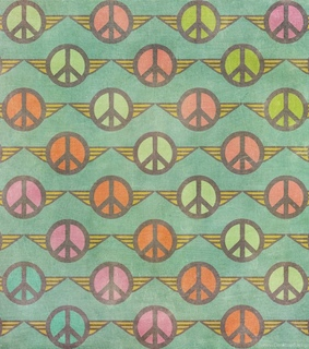 background, peace sign and vintage