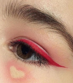 indie, heart and make up
