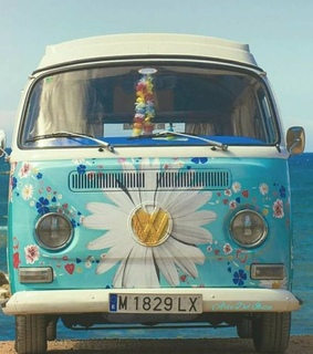 hippie, blue and aesthetic