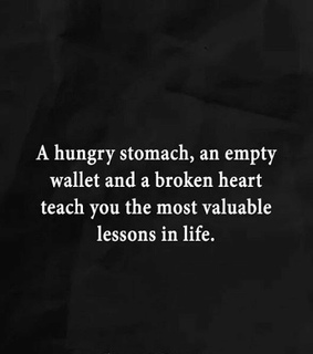 quotes, hunger and heartbreak