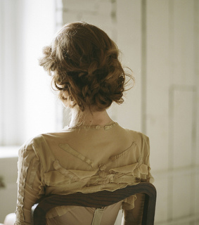 vintage dress, victorian and aesthetic