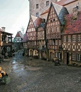 aesthetic, tudor and village