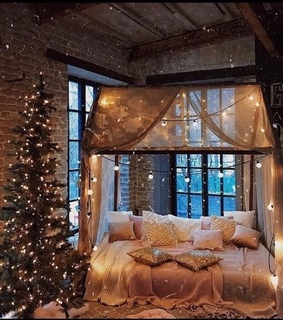 cozy, christmas and atmosphere