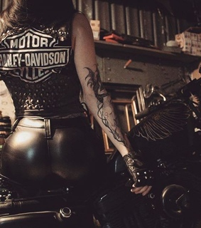 gothic, women are bikers too and hd