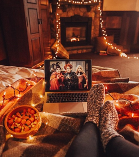 cozy, fall and movies