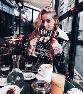 vogue, food and coffee