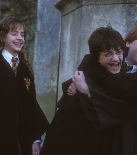 harrypotter, ronald and rony