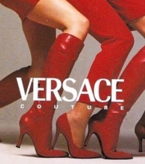 grunge, vintage style and versace