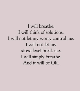 break, anxiety and think