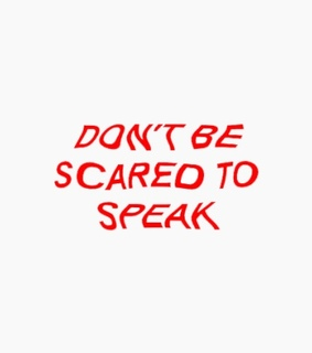 scared, quotes and beyourself
