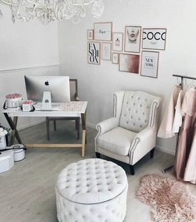 decor, work space and home